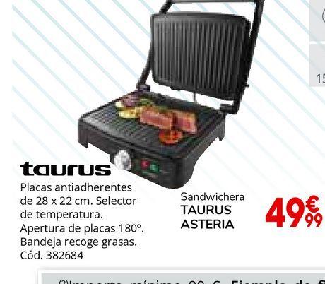 Oferta de Placa de cocina Taurus por 49,99€