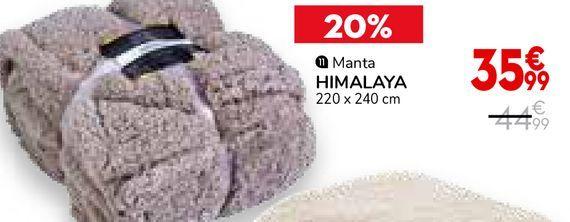 Oferta de Manta por 35,99€