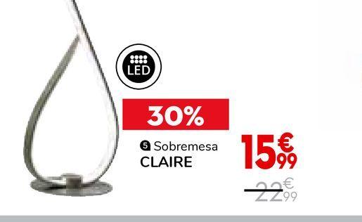 Oferta de Adornos claire por 15,99€