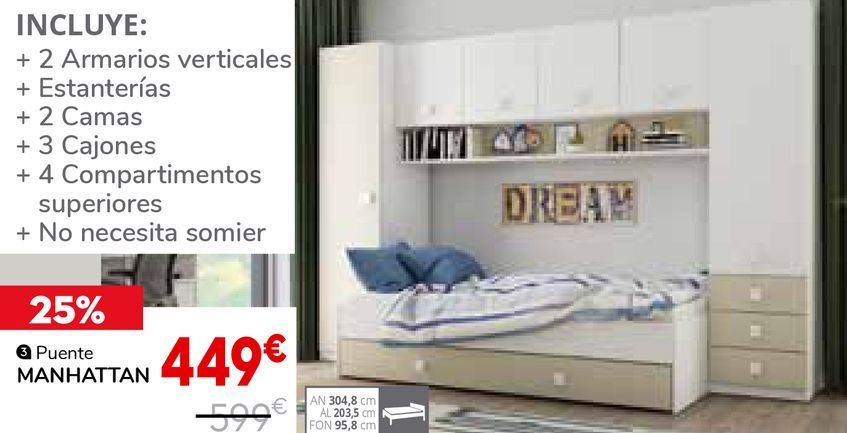 Oferta de Camas por 449€