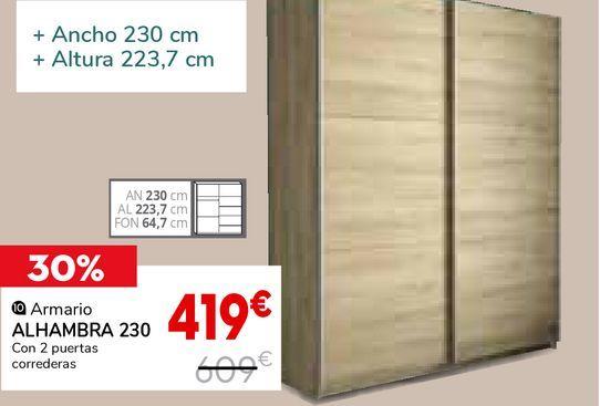 Oferta de Armarios Alhambra por 419€