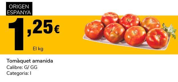 Oferta de Tomate ensalada por 1,25€