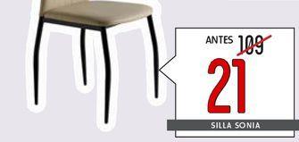 Oferta de Sillas SONIA  por 21€