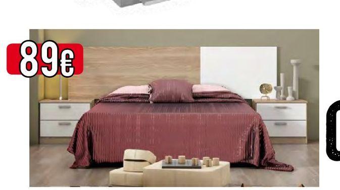 Oferta de Dormitorio de matrimonio LUCE  por 89€