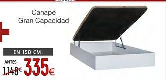 Oferta de Canapé abatible por 335€