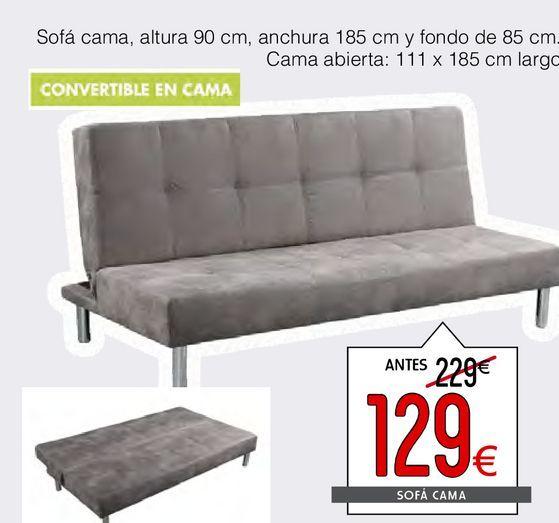 Oferta de Sofá cama BEISBOL  por 129€