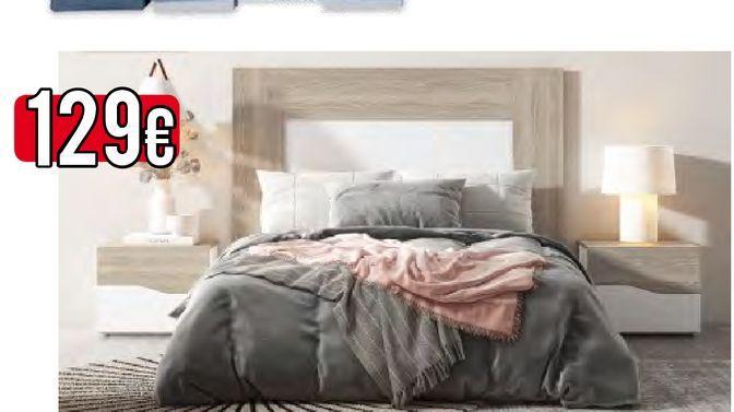 Oferta de Dormitorio de matrimonio LUCE  por 129€