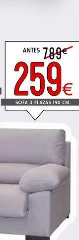 Oferta de Sofás 3 plazas BRASIL por 259€