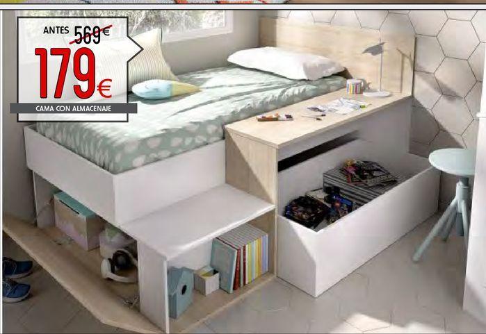 Oferta de Camas con almacenaje MAK  por 179€