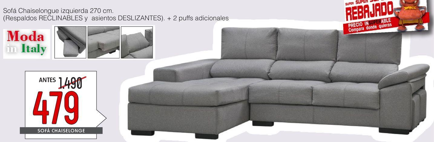 Oferta de Chaise longue ALASJA  por 479€