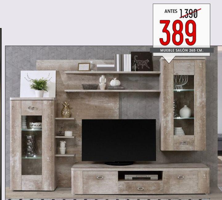 Oferta de Muebles de salón BUFFALO por 389€