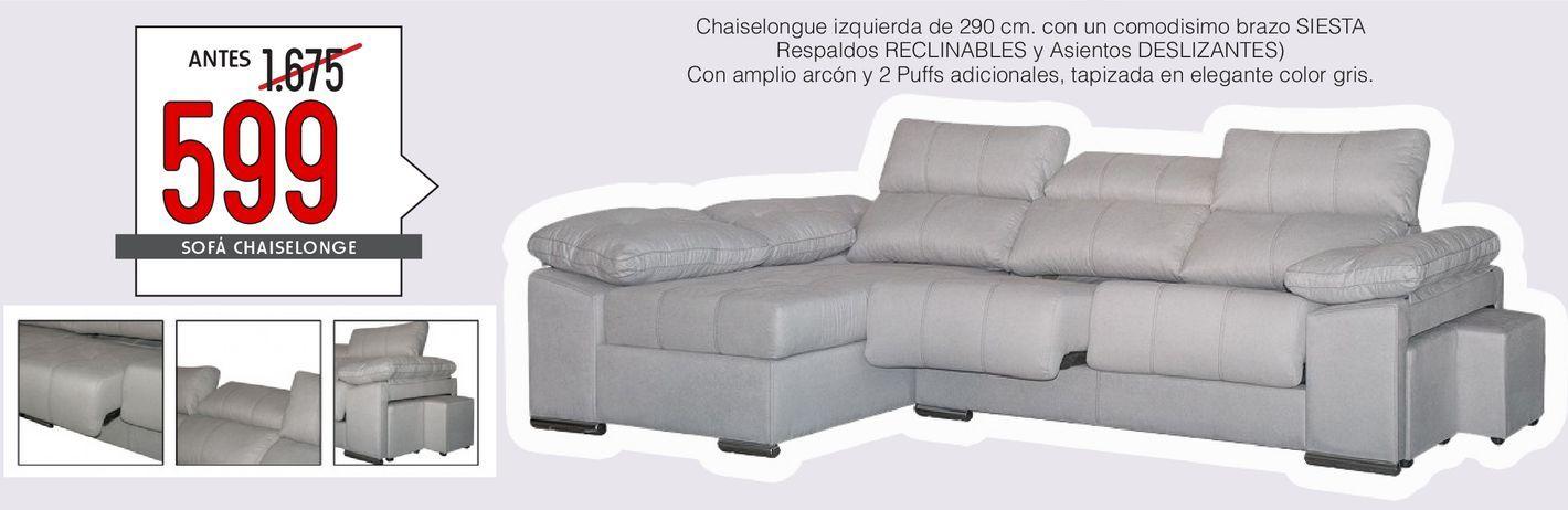 Oferta de Chaise longue gRECIA  por 599€