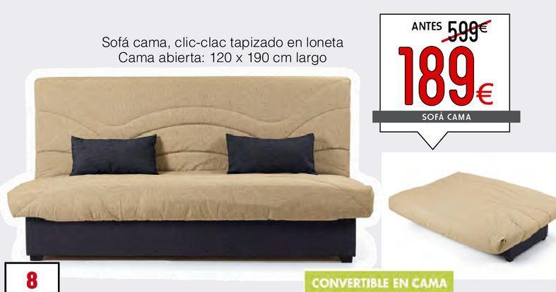 Oferta de Sofá cama TEDI  por 189€