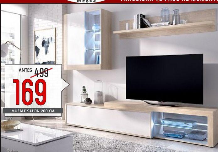 Oferta de Muebles de salón KOLN LEDS por 169€