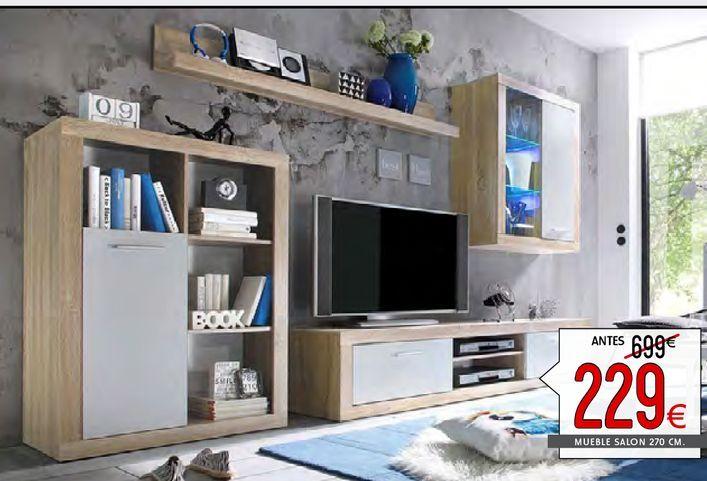 Oferta de Muebles de salón Sunset por 229€