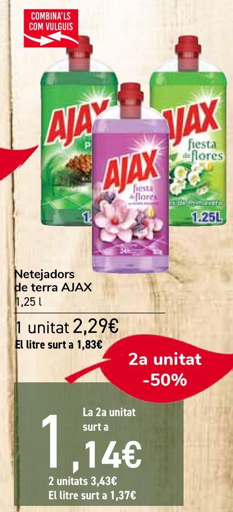 Oferta de Limpiadores de suelo AJAX   por 2,29€