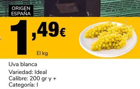 Oferta de Uva blanca por 1,49€