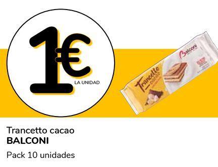 Oferta de Trancetto cacao BALCONI por 1€