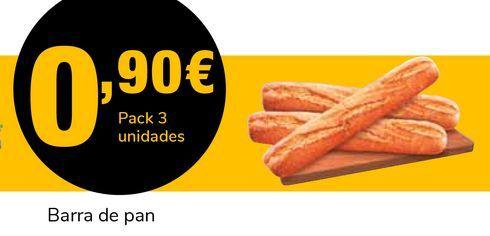 Oferta de Barra de pan por 0,9€