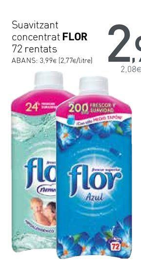 Oferta de Suavizante Flor por 2,99€