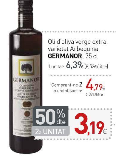 Oferta de Aceite de oliva Germanor por 6,39€
