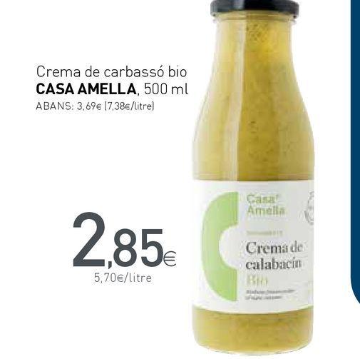 Oferta de Crema de verduras por 2,85€
