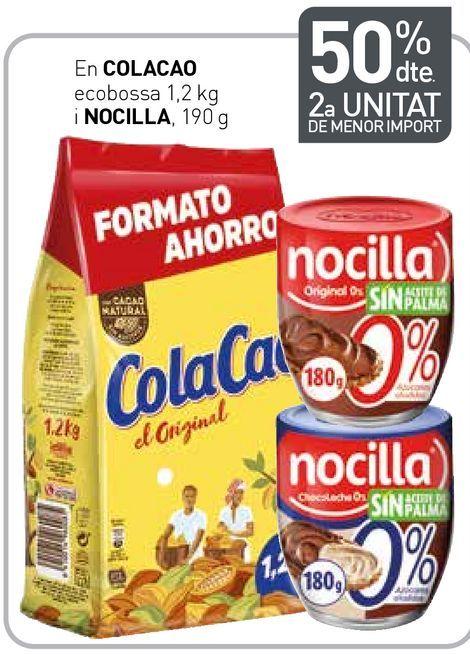 Oferta de Cacao soluble Cola Cao por