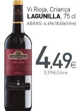 Oferta de Vino tinto Lagunilla por 4,49€