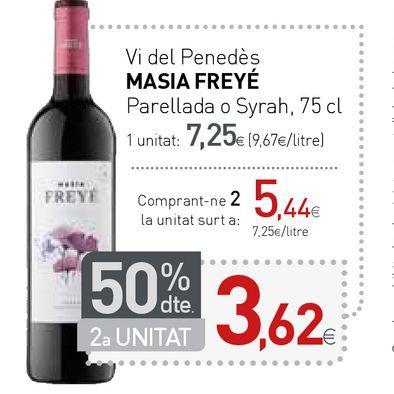 Oferta de Vino tinto por 7,25€