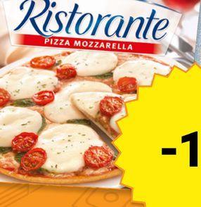 Oferta de Pizza de mozarella Dr. Oetker Ristorante por
