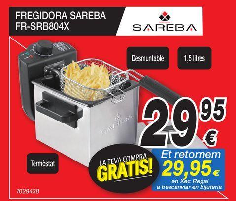 Oferta de Freidora SAREBA por 29,95€