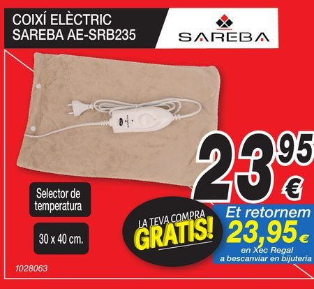 Oferta de Cojinete electrónico SAREBA  por 23,95€