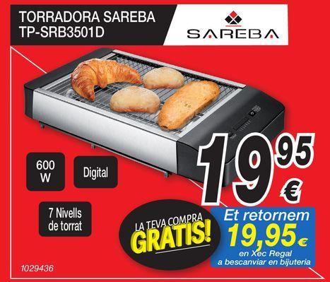 Oferta de Tostadora SAREBA  por 19,95€