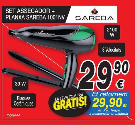Oferta de Secador SAREBA por 29,9€