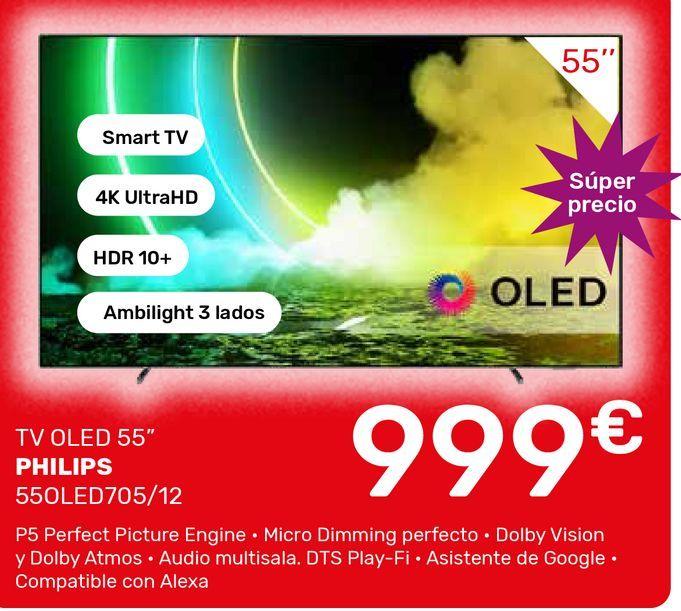 Oferta de Smart tv Philips por 999€