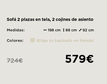Oferta de Sofás por 579€