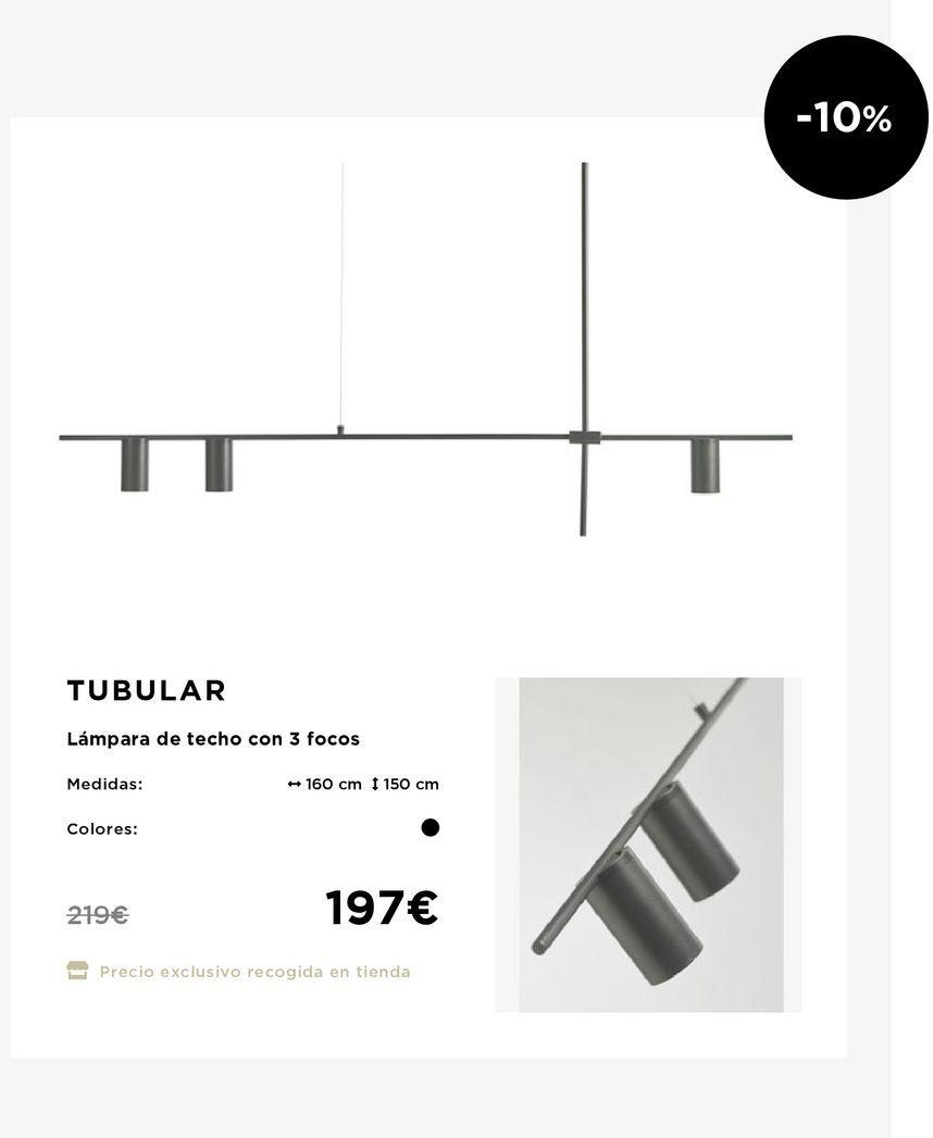 Oferta de Lámpara de techo por 175€