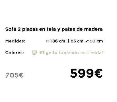 Oferta de Sofás por 599€