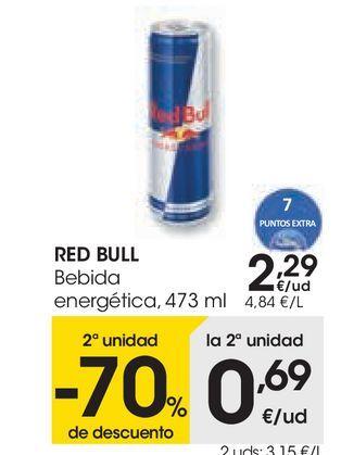 Oferta de RED BULL Bebida energética  por 2,29€