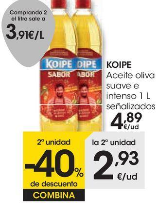 Oferta de KOIPE Aceite oliva suave e intenso  por 4,89€
