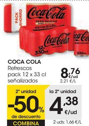 Oferta de COCA COLA Refrescos  por 8,76€
