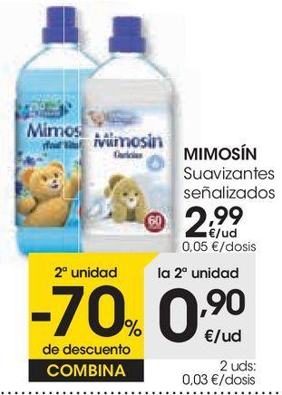 Oferta de MIMOSÍN Suavizantes  por 2,99€