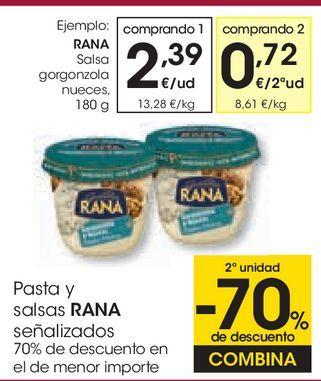 Oferta de RANA Salsa gorgonzola nueces por 2,39€