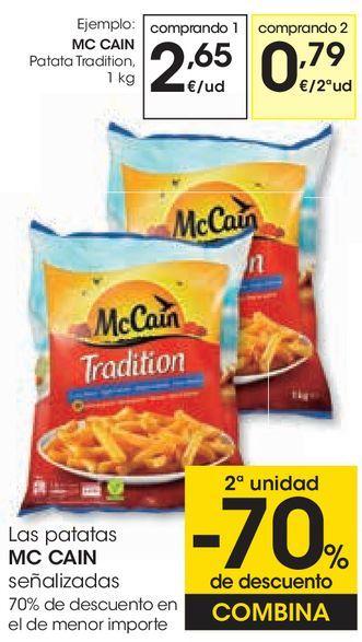 Oferta de MC CAIN Patata Tradition por 2,65€