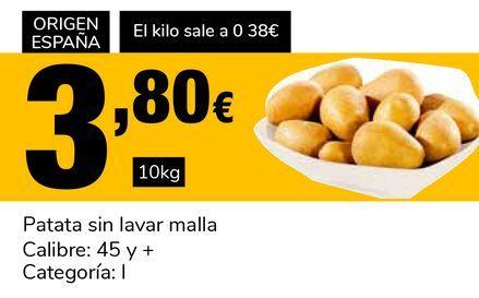 Oferta de Patata sin lavar malla por 3,8€