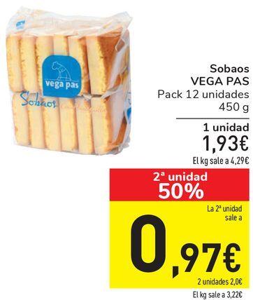 Oferta de Sobaos VEGA PAS  por 1,93€