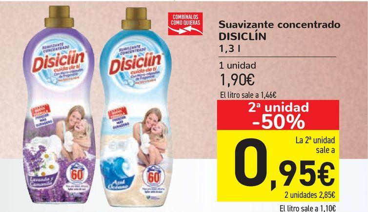 Oferta de Suavizante concentrado DISICLÍN por 1,9€
