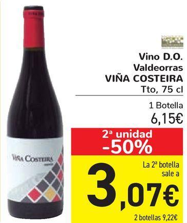 Oferta de Vino D.O. Valdeorras VIÑA COSTEIRA por 6,15€