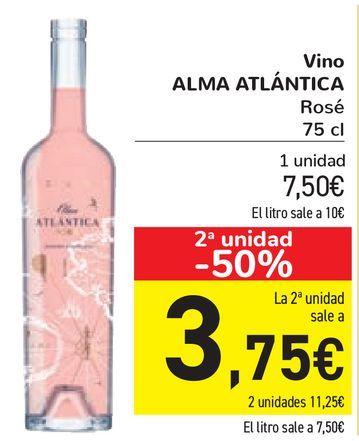 Oferta de Vino ALMA ATLÁNTICA  por 7,5€