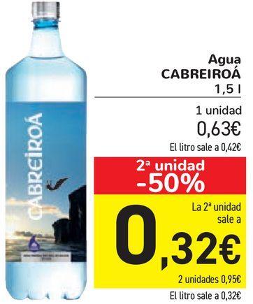 Oferta de Agua CABREIROÁ por 0,63€